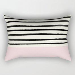 Bubblegum x Stripes Rectangular Pillow