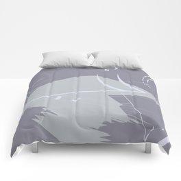 Gray scratchs Comforters