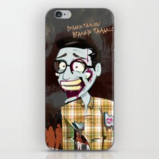 Hipster Zombie iPhone & iPod Skin