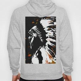 "Native American Indian ""Fearless in Flames"" Hoody"