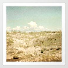 The Beginning Sleeping Bear Sand Dunes Art Print