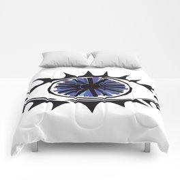 Blue Eye Warding Off Evil Comforters