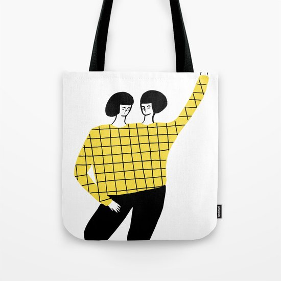 Dancing with myself Tote Bag