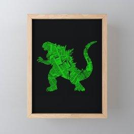 Japanese Monster - II Framed Mini Art Print