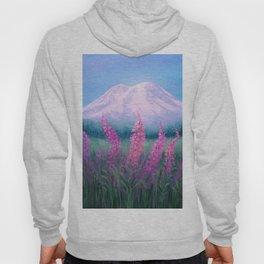 Fireweed Phenomenon on Mount Rainier Hoody