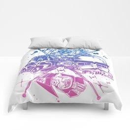 StarWars Dark Side -Blue To Pink Palette Comforters