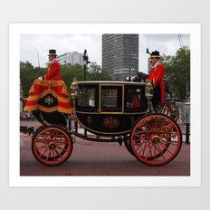 The Royal Carriage 8 Art Print