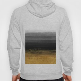 Black and Gold grunge stripes on clear white backround I - Stripes - Striped Hoody