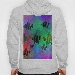 fishs in colors Hoody
