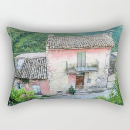 Old house in the Umbria countryside, Italy Rectangular Pillow