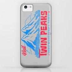Visit Twin Peaks (hot pink) iPhone 5c Slim Case