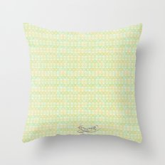 Soft Summer. Throw Pillow