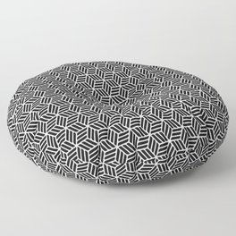 Beautiful Pattern #14 Cubes Floor Pillow