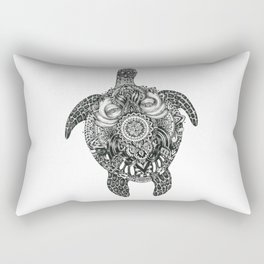 Ink Turtle Rectangular Pillow