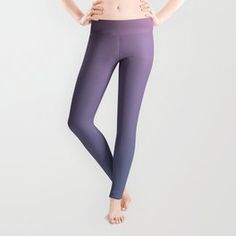 Gradient Dawn Pink Purple Blue Leggings