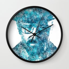 Walter White made of SkyBlue. Breaking Bad returns TONIGHT!!! Wall Clock