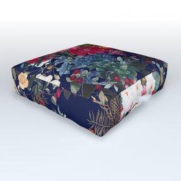 Midnight Garden VI Outdoor Floor Cushion
