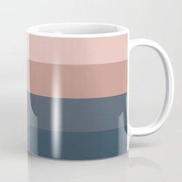 Neutral 70's Minimal Sunset Coffee Mug
