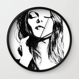 Vanessa Paradis II Wall Clock