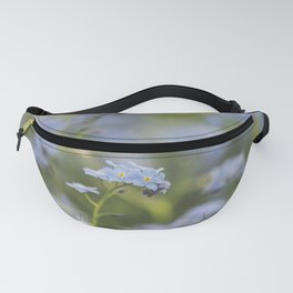 Forget-me-not meadow Spring Flower Flowers Floral Fanny Pack
