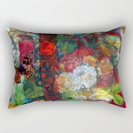 Summer Garden Rectangular Pillow