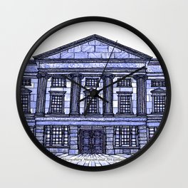 Shrewsbury Museum and Art Gallery, Blue Wall Clock