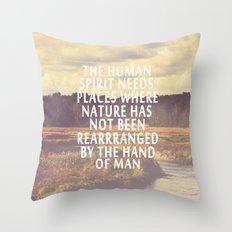 The Human Spirit Throw Pillow
