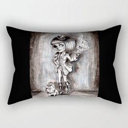 Miss Terry Riddles Rectangular Pillow