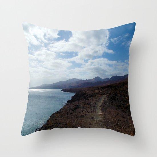 Los Ajaches, Lanzarote Throw Pillow
