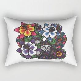 Fear & Trembling (Botanical Bliss) Rectangular Pillow