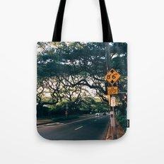 Honolulu Road Tote Bag