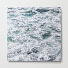 Oceanized Metal Print