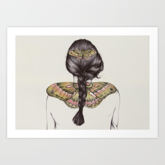 Hair IV Art Print