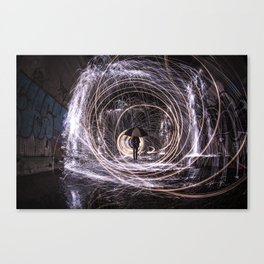 Time Warp Tunnel Canvas Print