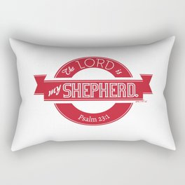 Psalm 23:1 (Retro) Rectangular Pillow