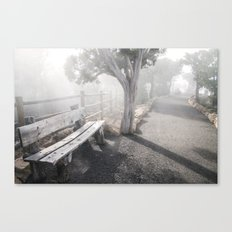 Mists Before the Trail of Time Canvas Print