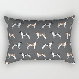 Rat Terrier dog breed decor gifts pure breed dogs Rectangular Pillow