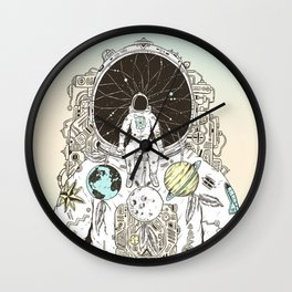 The Dreamer Wall Clock
