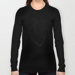 dotwork heart Long Sleeve T-shirt