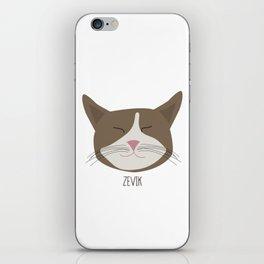 Family Cat Portraits, Zevik iPhone Skin