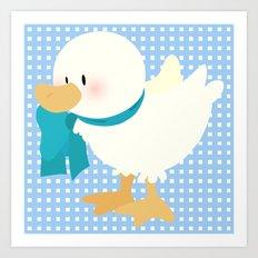 duck (male) Art Print