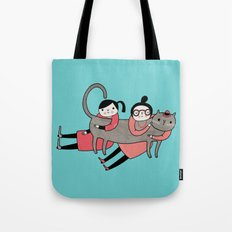 It's always a good time to hug a cat Tote Bag