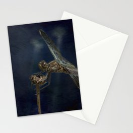 Female Widow Skimmer at Delta Pond, No. 1 Painterly Stationery Cards