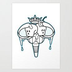 I-scream Art Print
