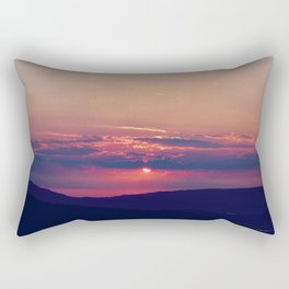 Pink and Purple Truckee Sunrise Rectangular Pillow