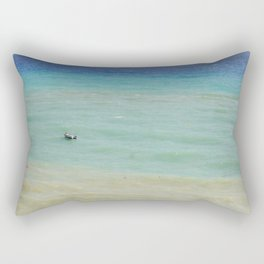 boats against the current (revisited) Rectangular Pillow