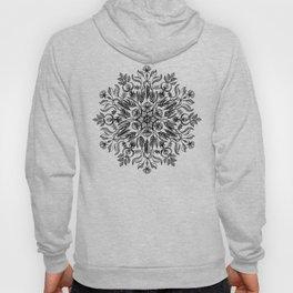 Thrive - Monochrome Mandala Hoody