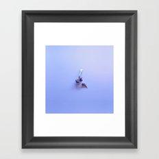 Spoonful of lavender Framed Art Print