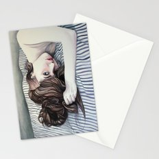 Striped Sheets Stationery Cards