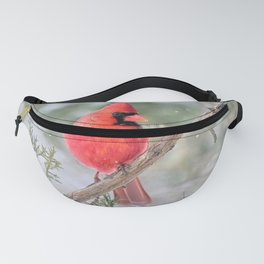 Winter's End Cardinal Fanny Pack